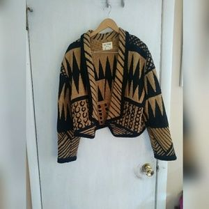 Boho cardigan/jacket